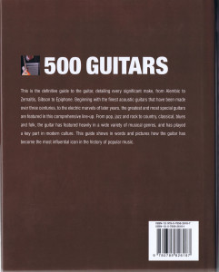 500 GUITARS A definitive A-Z guide B