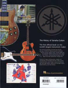 The History YAMAHA GUITARS B