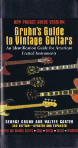 Gruhn's Guide to Vintage Guitars 2-A