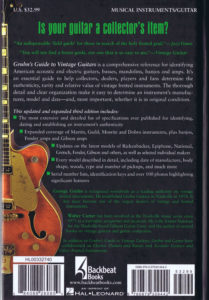 Gruhn's Guide to Vintage Guitars 4-B
