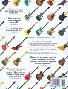 ELECTRIC GUITARS THE ILLUSTRATED ENCYCLOPEDIA HC B