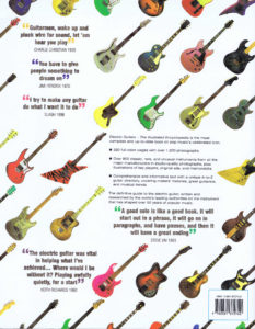 ELECTRIC GUITARS THE ILLUSTRATED ENCYCLOPEDIA PB B